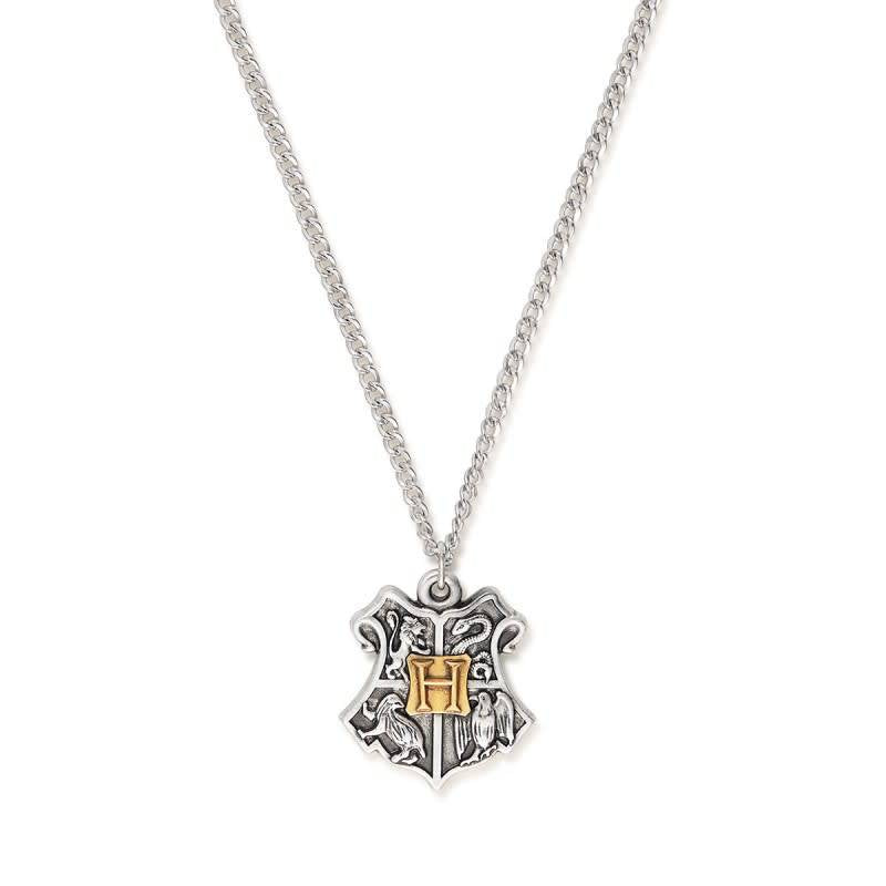 Harry Potter Hogwarts Two Tone Necklace, RS