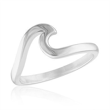Wave Stack Ring
