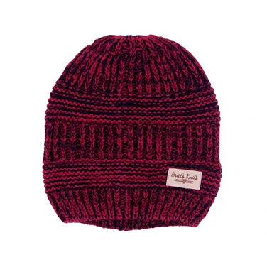 Beanie - Red/Black