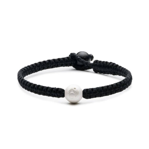 Single Wrap Black Bracelet
