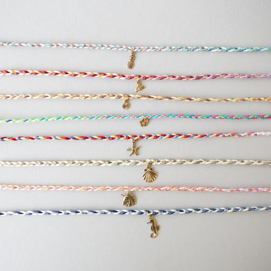DIY Braided Charm Anklet Kit