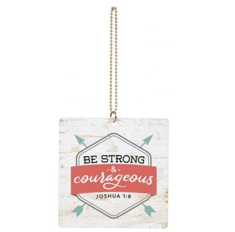Be Strong Car Charm
