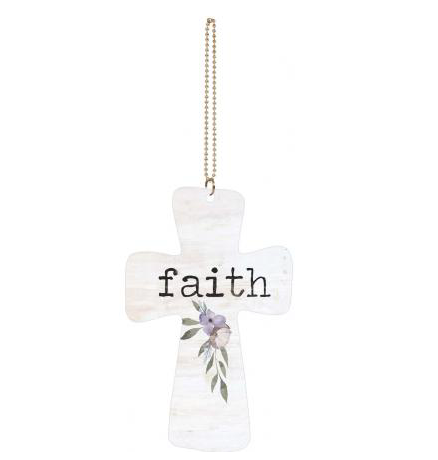 Faith Car Charm