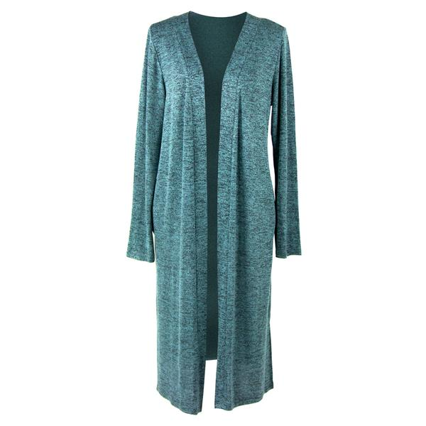 Carefree Threads Long Cardigan - Mint