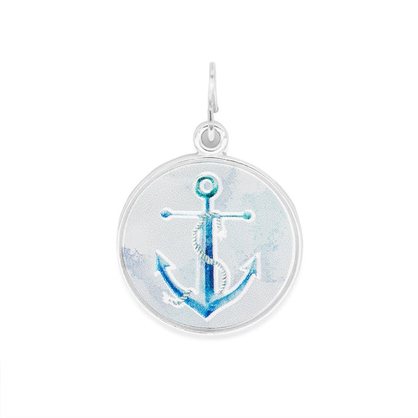 Necklace Charm - Art Infusion, Anchor, SS