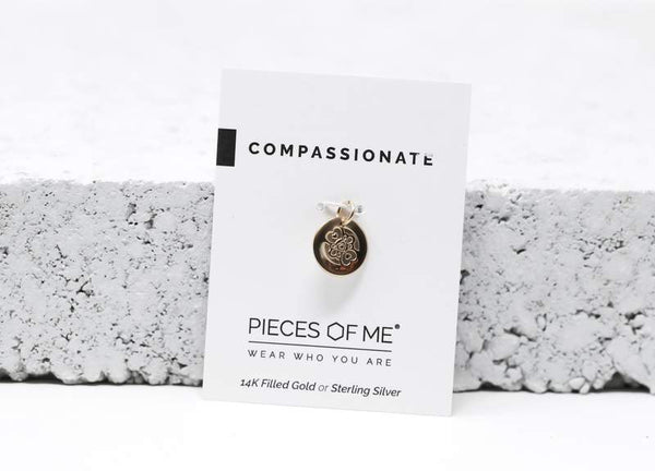 Compassionate Necklace Charm