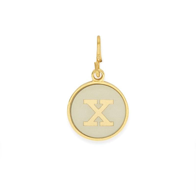 Initial X Charm, Two Tone