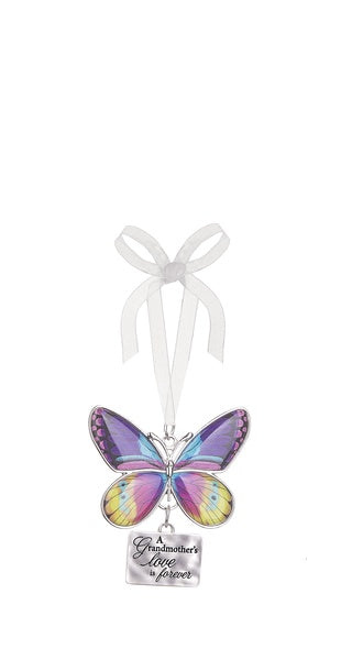 A Grandmother's Love Butterfly Ornament