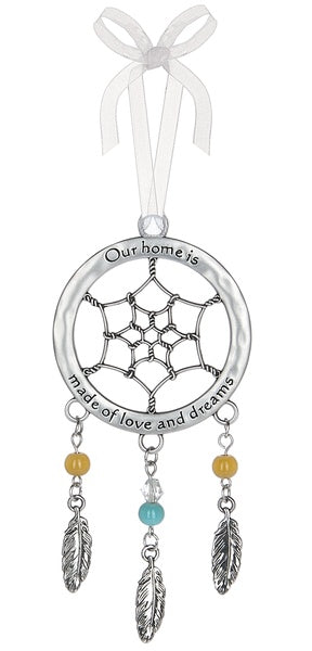 Our Home is Made Of... Ornament, Dreamcatcher