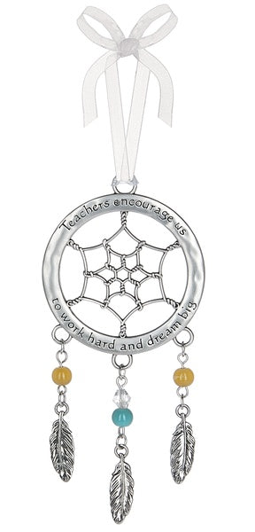 Teachers Dreamcatcher Ornament