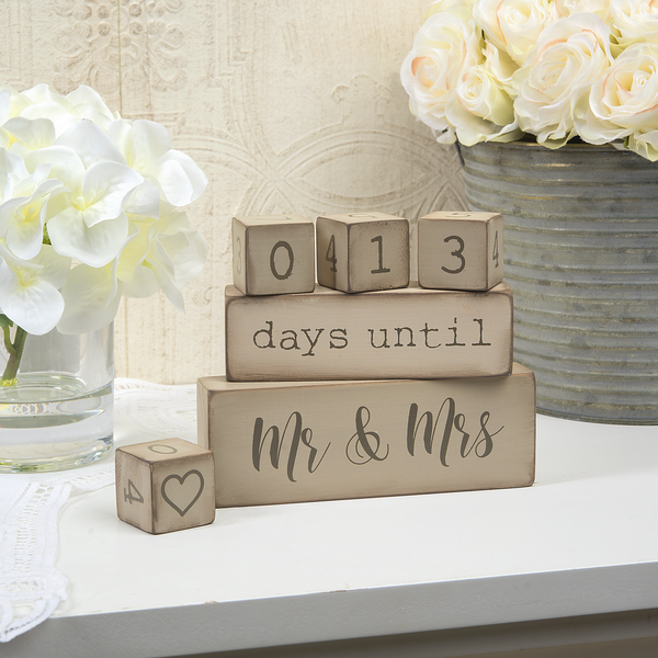 Wedding Countdown Calendar