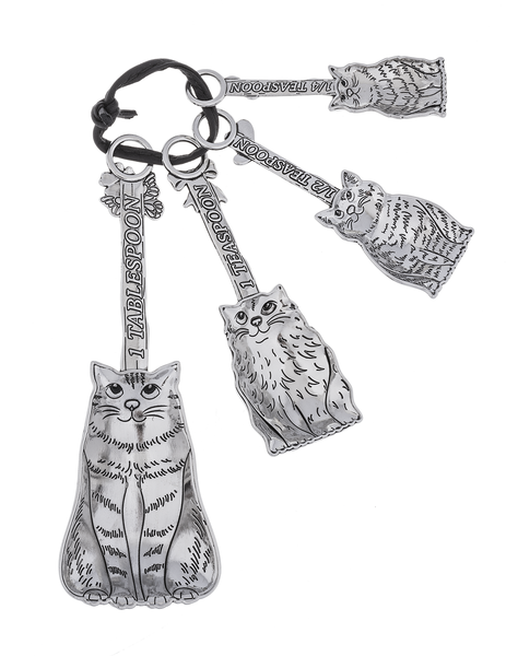 Cats Measuring Spoon Set- 4 pc set