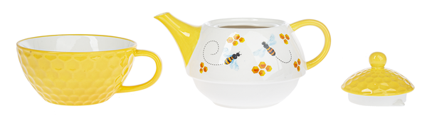 Bee Inspired- Tea For One- 3 pc set