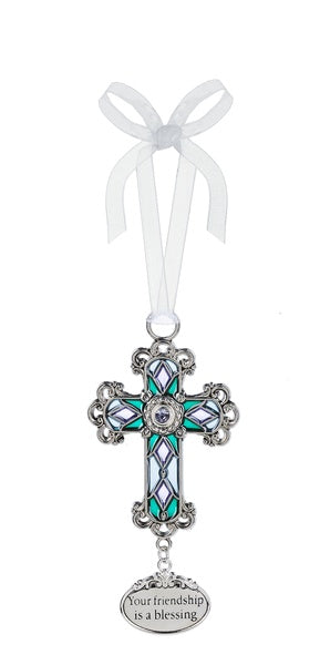 Friendship Cross Ornament