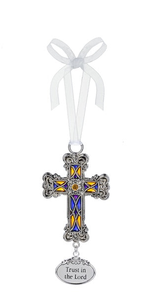 Trust in the Lord, Cross Ornament