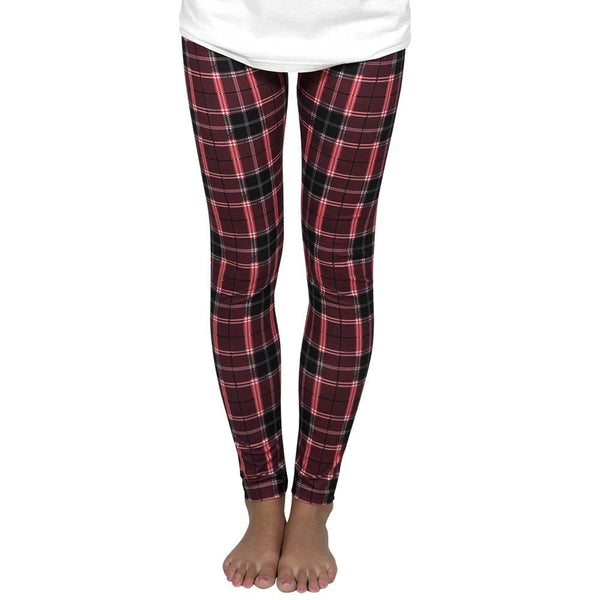 Camper Leggings, Plaid