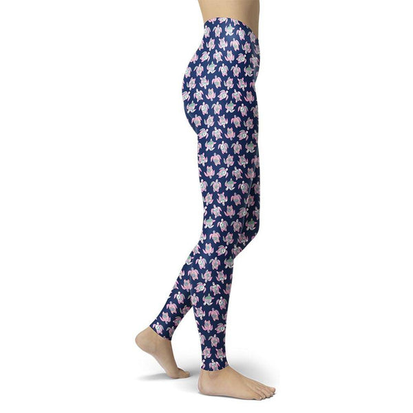 Camper Leggings, Turtle Navy