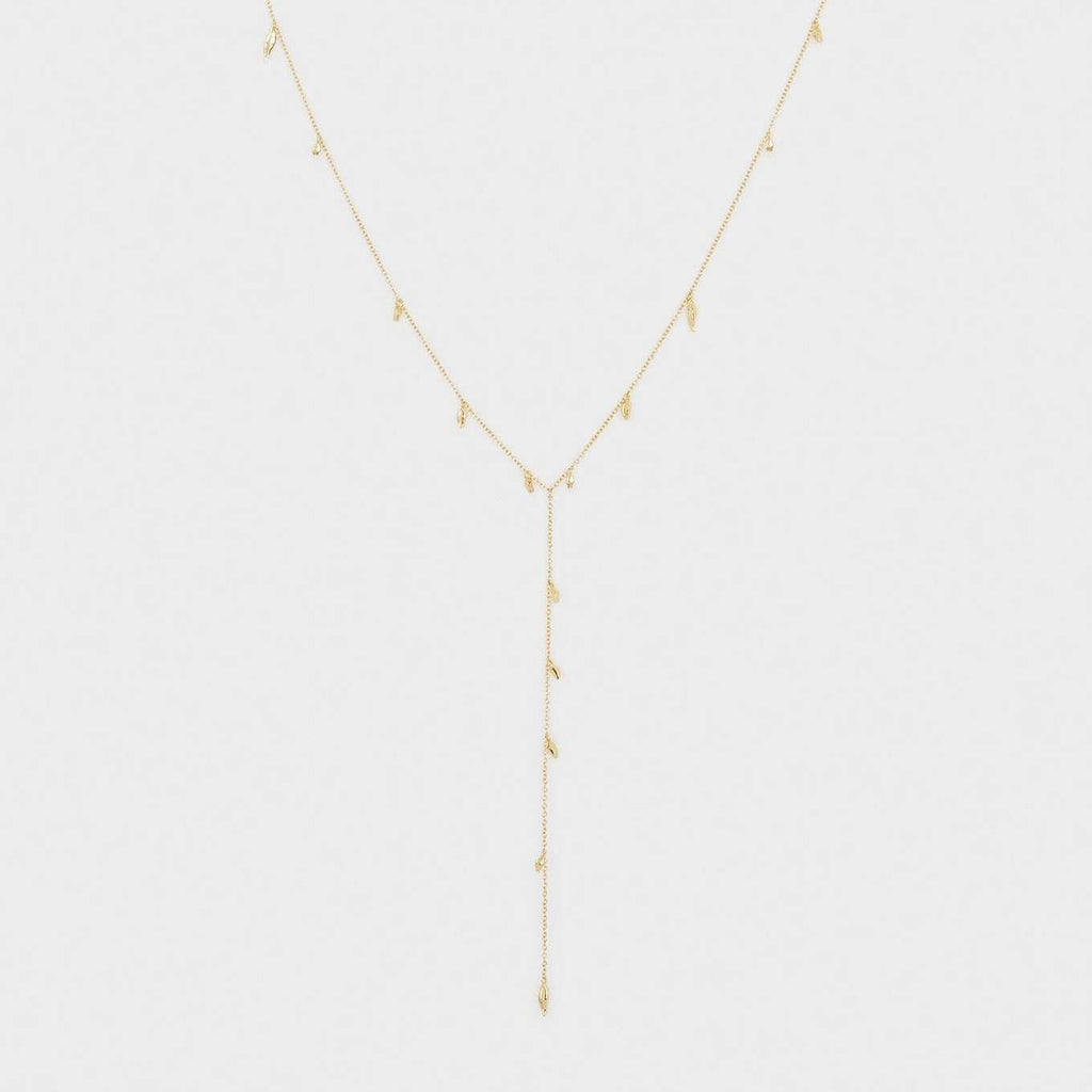 Willow Lariat Gold