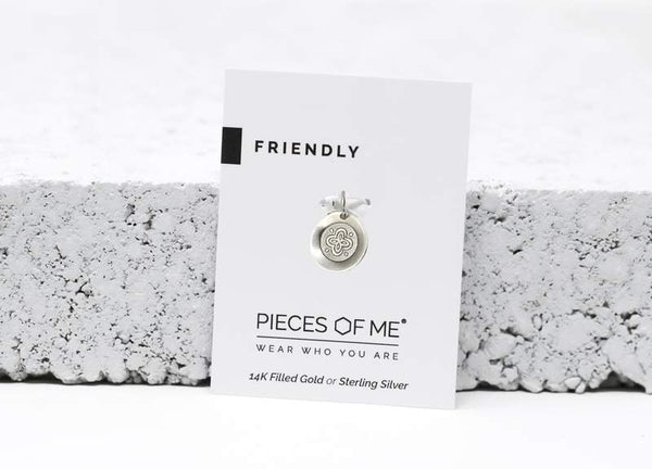 Friendly Necklace Charm