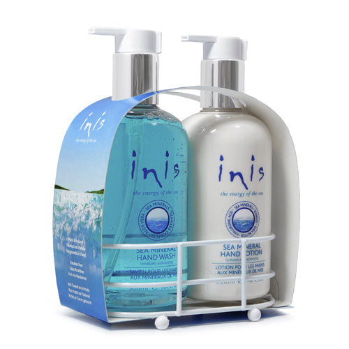 Inis Hand Care Caddy 2 x 300ml / 10 fl. oz