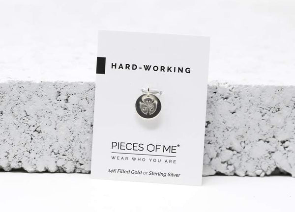 Hard-Working Necklace Charm
