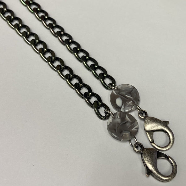 Masqraid Face Mask Chain - Lucite Links