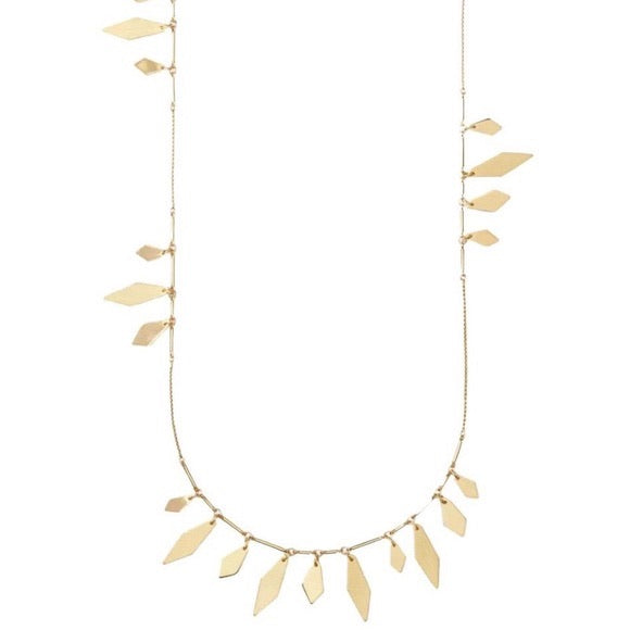 Blaine Gold Long Necklace