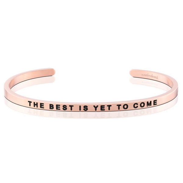 The Best Is Yet To Come- Bracelet, Rose Gold