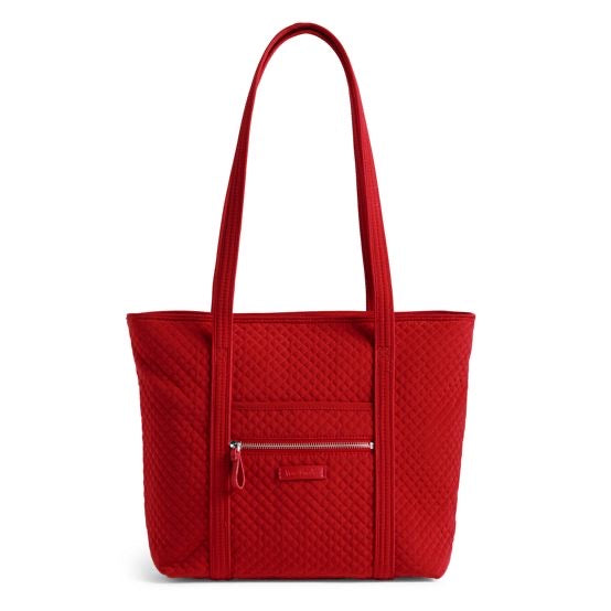 Iconic Small Vera Tote Cardinal Red