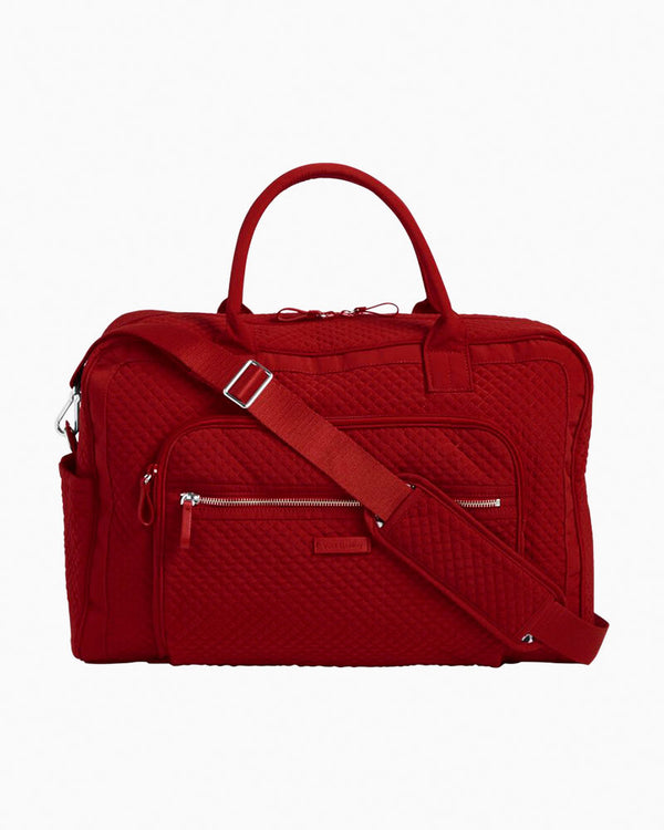 Iconic Grand Weekender Travel Bag Cardinal Red