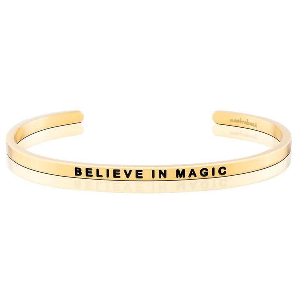 Believe in Magic Charity Band, Gold