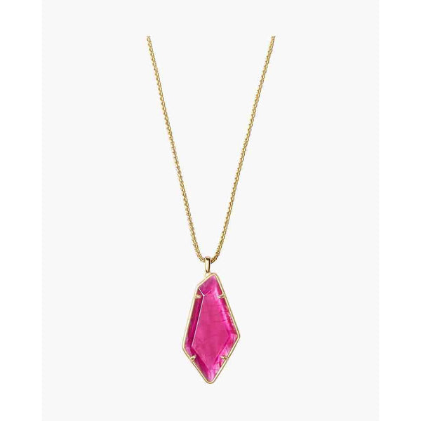 Lilith Gold Pink Necklace