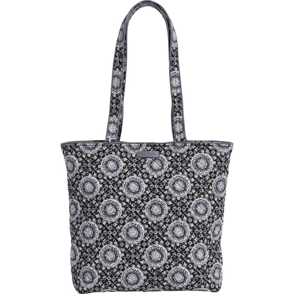 Iconic Tote Bag Charcoal Medallion