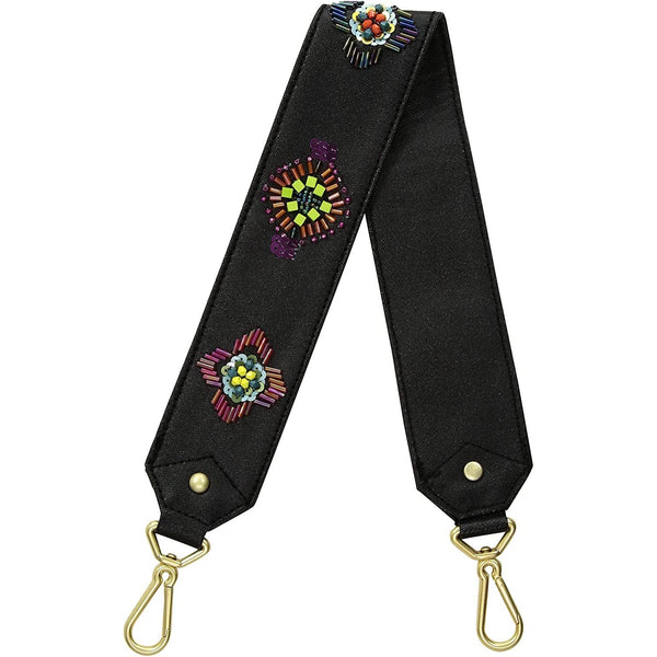 Carson Embroidered Medallions Strap