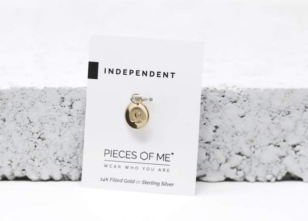 Independent Necklace Charm