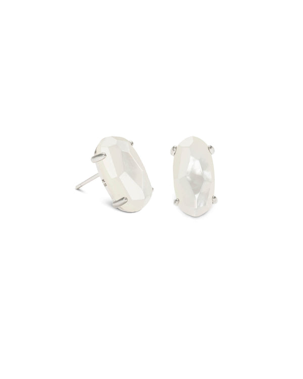 Betty Earring bsv Ivory Mop