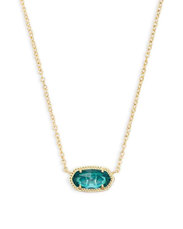 ELISA NECKLACE GOLD LONDON BLUE