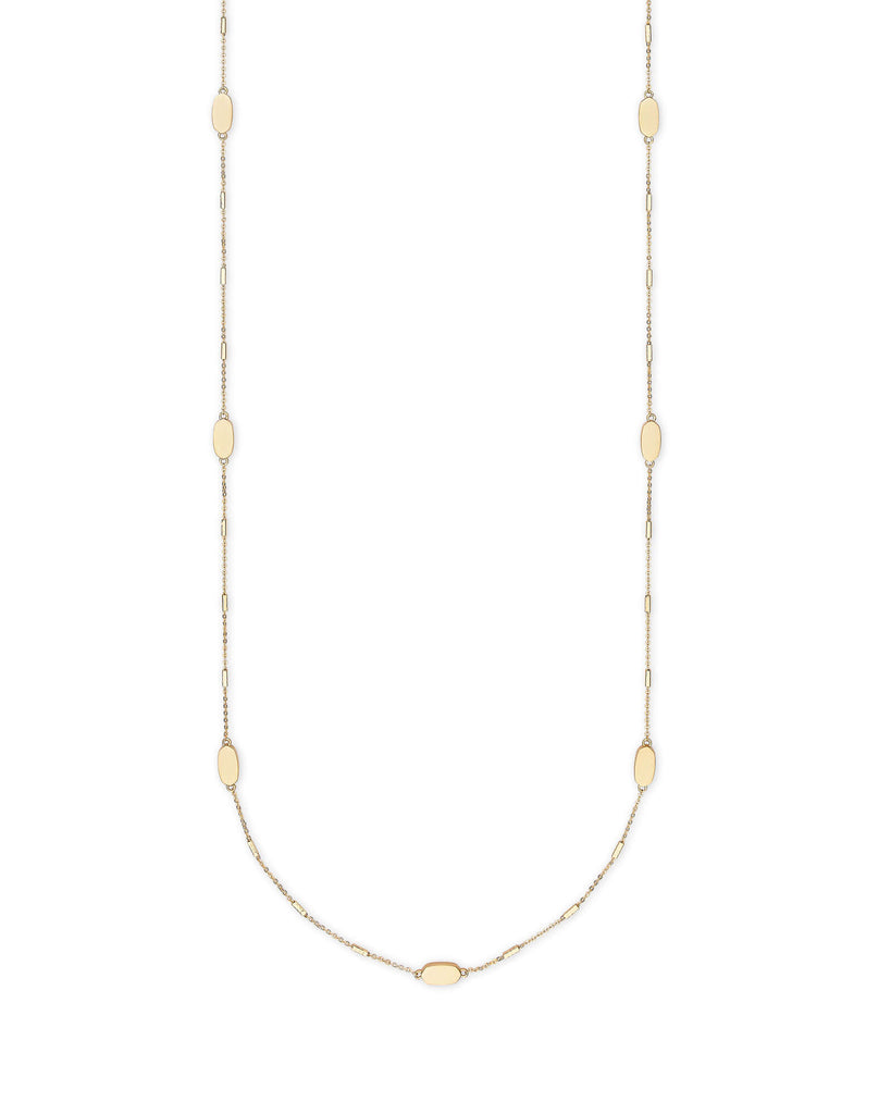 Franklin Necklace Gold Metal