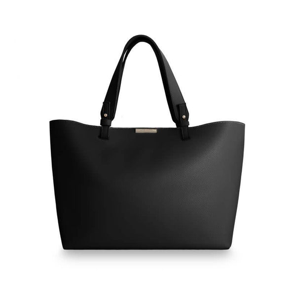 Piper Soft Tote Bag - Black