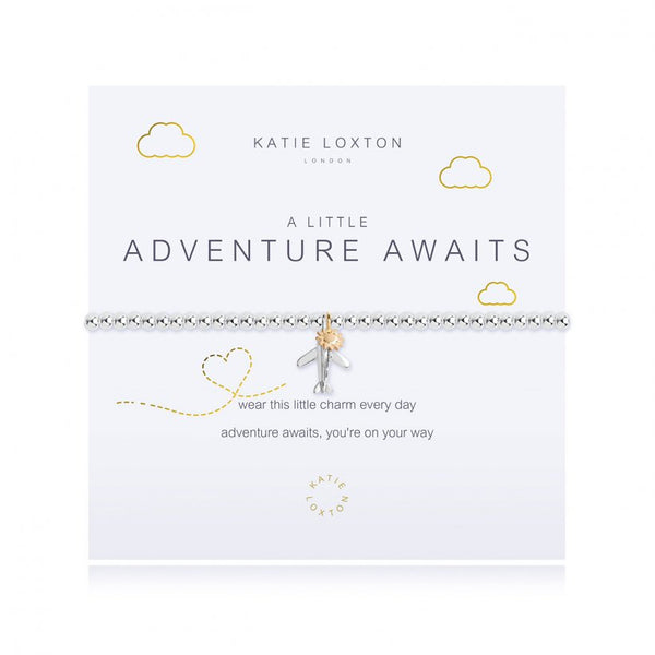 A Little Adventure Awaits Bracelet - Silver