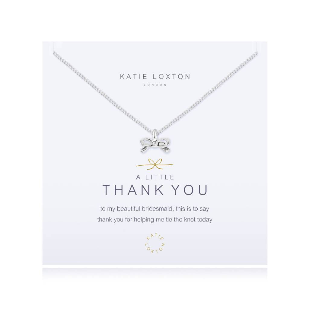 A Little Thank You Bridesmaid - Necklace