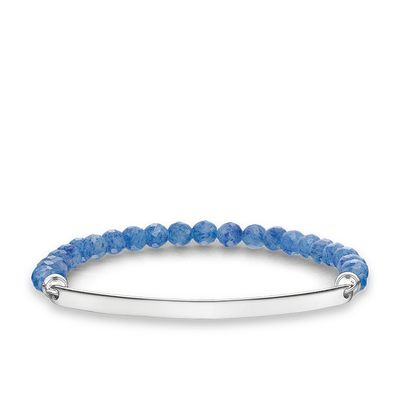 Love Bridge Dumortierite Bracelet 20 cm
