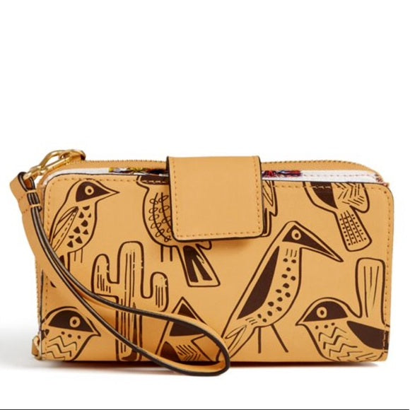Resort Wristlet Vachetta Brown