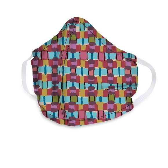 Vera Bradley - Adult Cotton Face Mask in Resort Woven