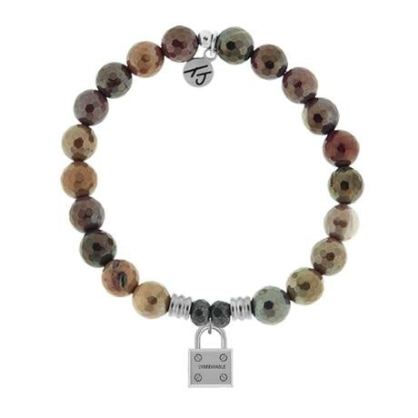Core Collection, Mookaite Faceted, Unbreakable