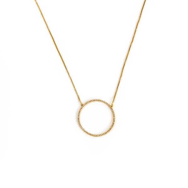 You Are My Everything Necklace- Gold