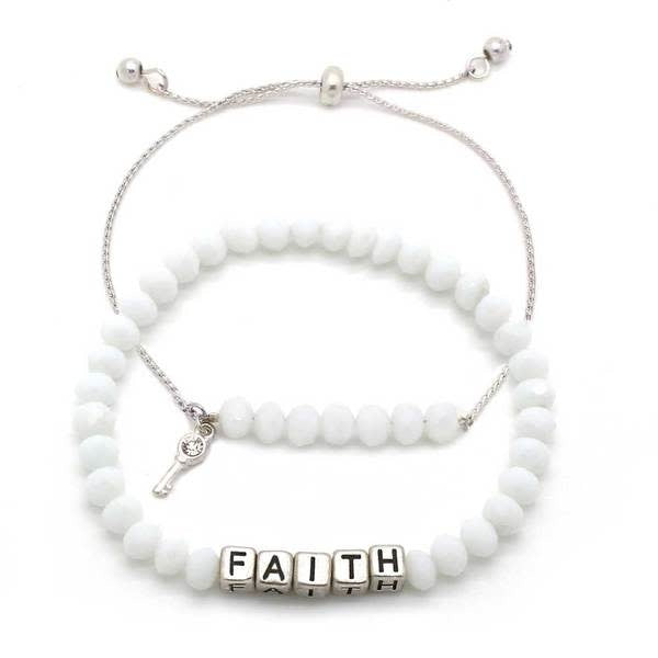 My Messages Bracelet, Faith