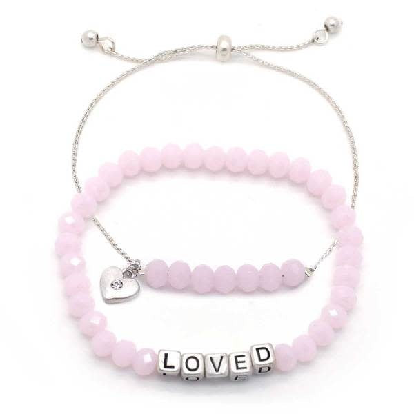 My Messages Bracelet, Loved