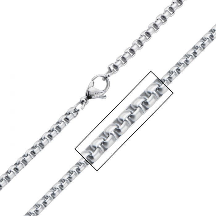 Stainless Steel Bold Box Chain