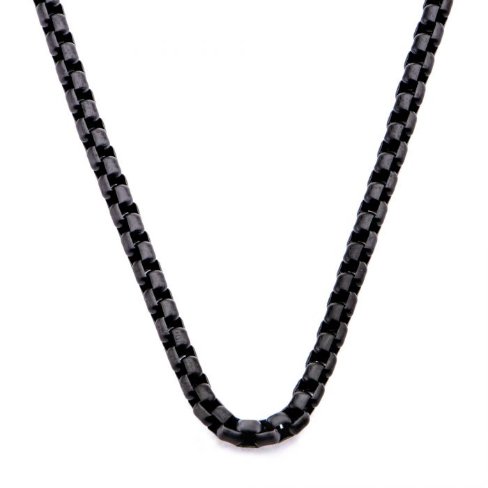 Bold Round box Chain 4mm